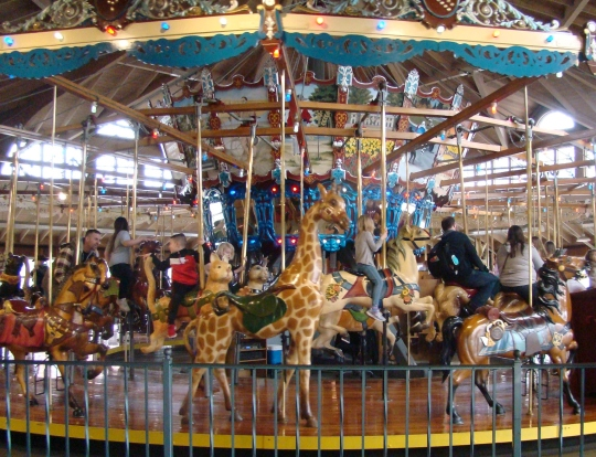 Carrousel Kids of all ages