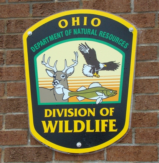 Hatchery ODNR sign