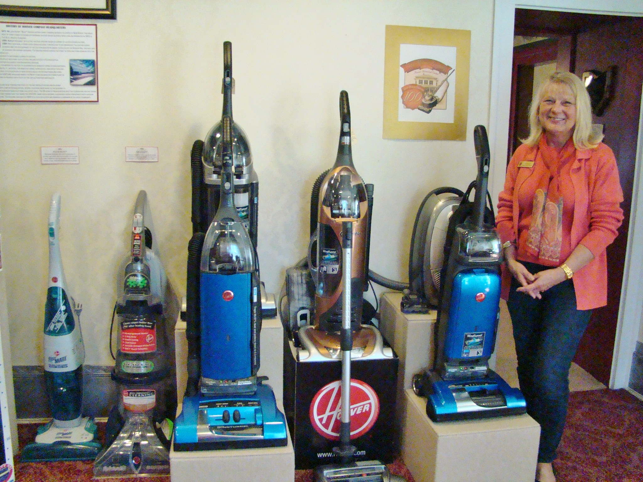 Hoover Ann with later models
