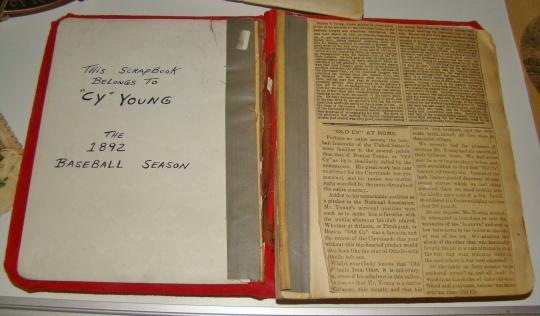 Cy - 1892 Scrapbook