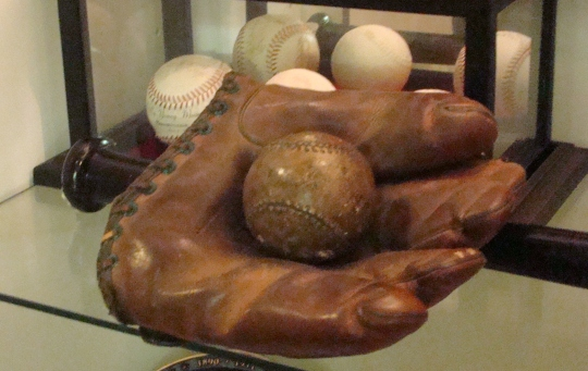 Cy ball and glove