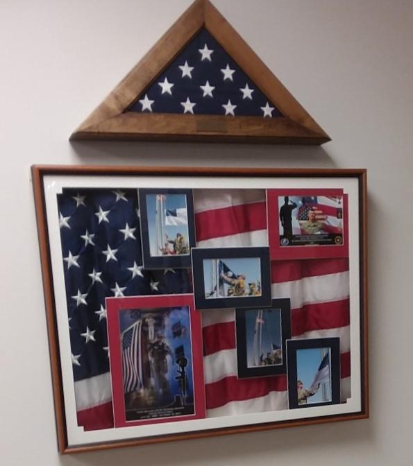 Flags - Memorial Wall