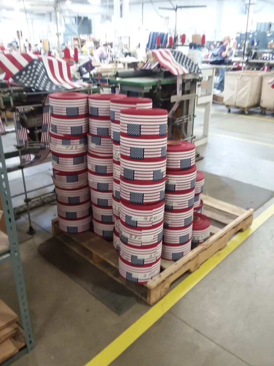 Flags- rolls of stick flags