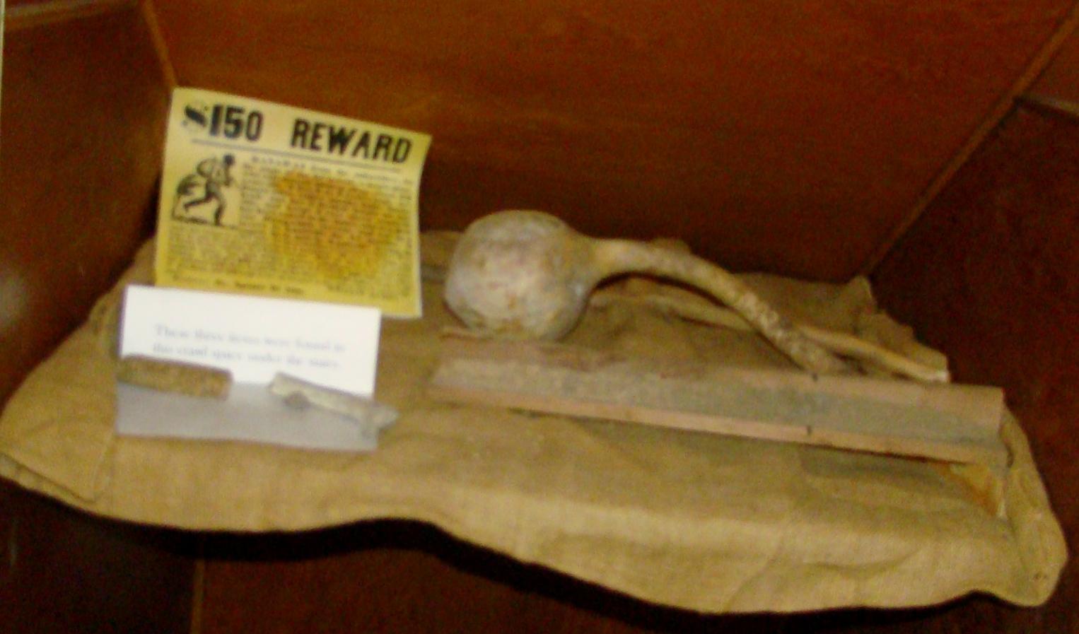 Stone - found under stairs