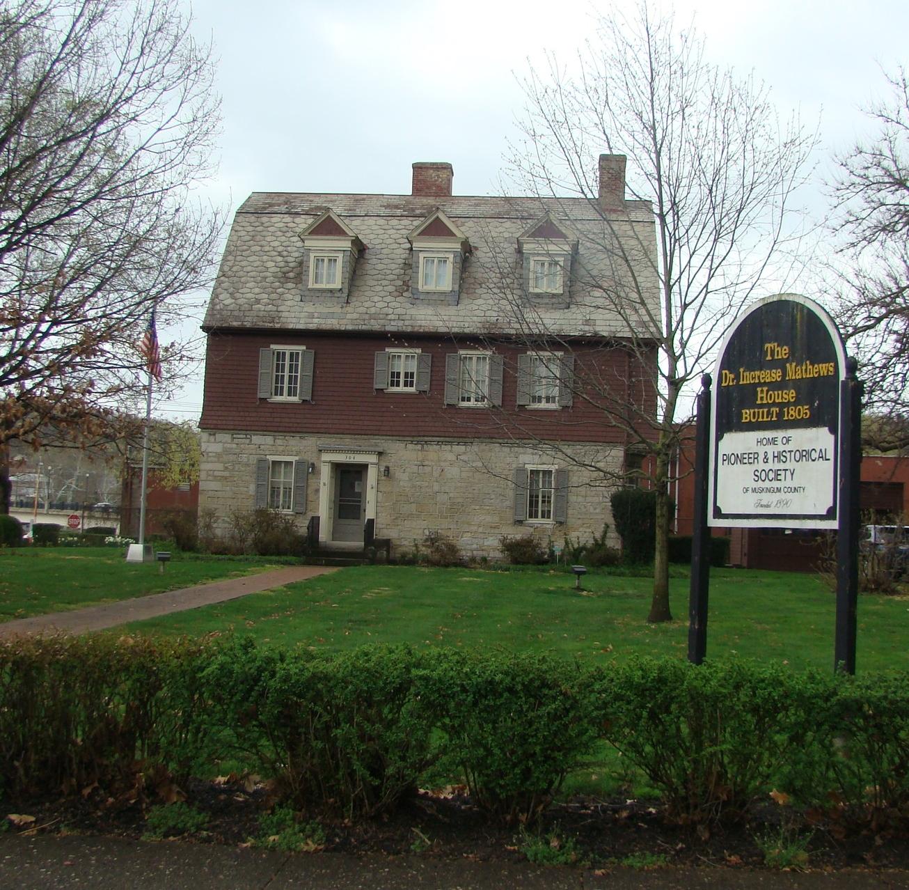 Stone - Increase Mathews House