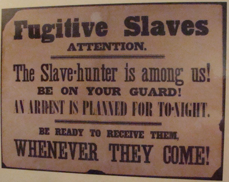 Stone Notice to Slaves