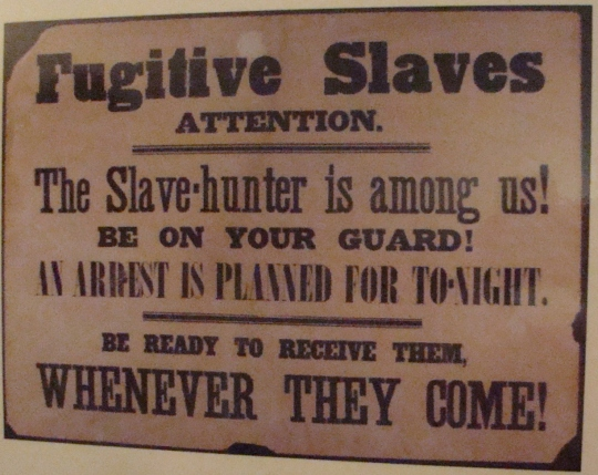 Stone Notice to Slaves