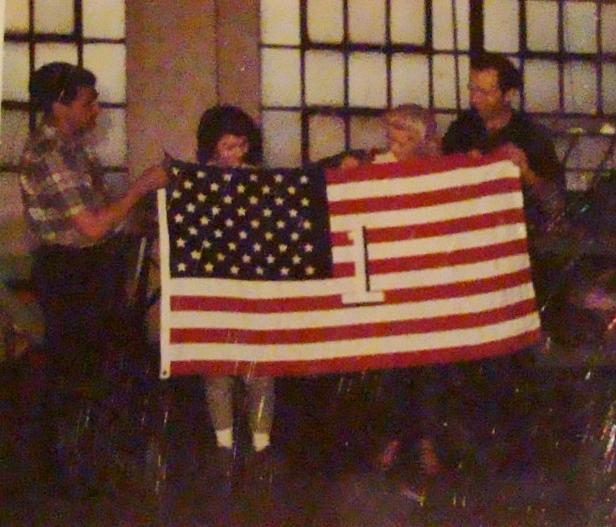 Vane Scott First Flag