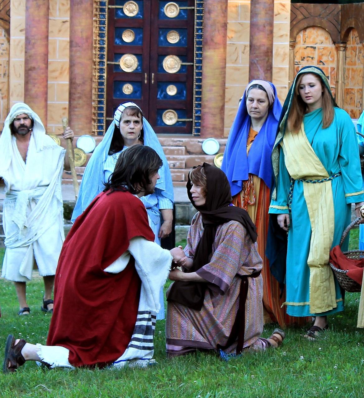 LW Jesus healing