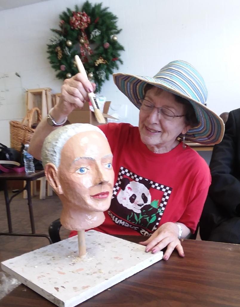 Shana Mannequin head