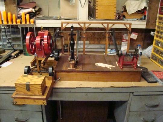 Carl miniature engine line shaft