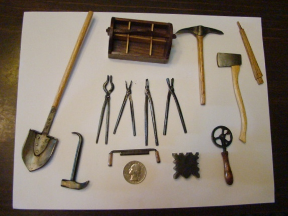 Carl miniature tools