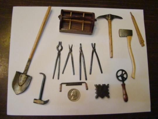 Carl miniature tools