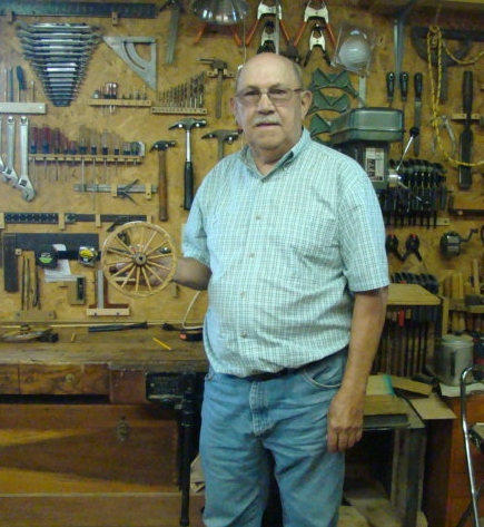 Carl wheel woodshop