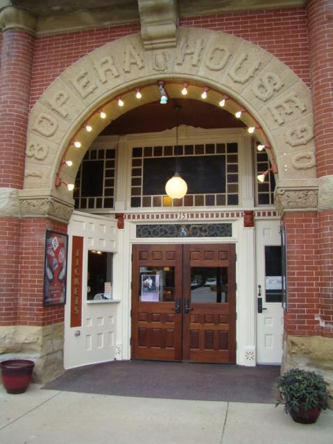 Opera House - entrance