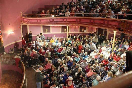 Opera House - packed