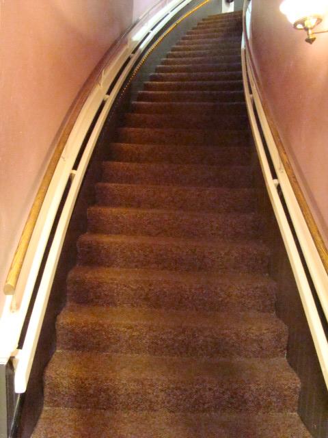 Opera House - stairs to balcony
