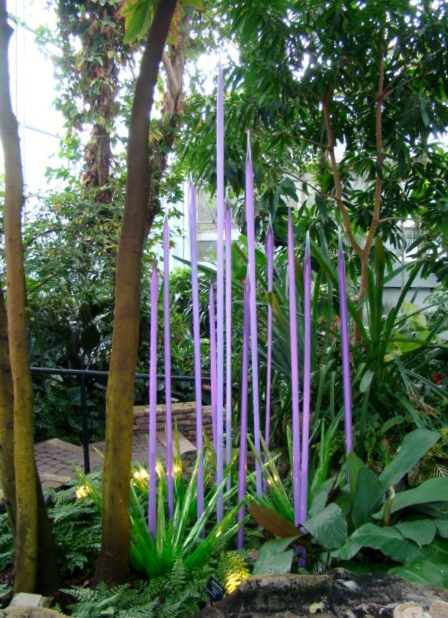 Chihuly Lavender Reeds