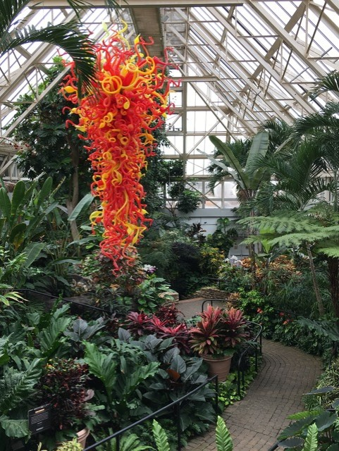 Chihuly Sunset Tower