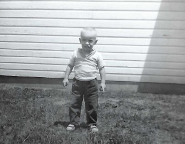 Jack as a child
