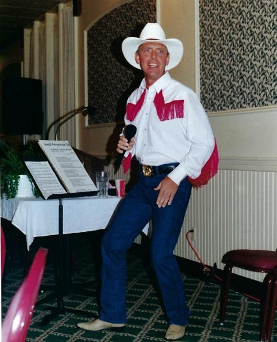 Jack performing