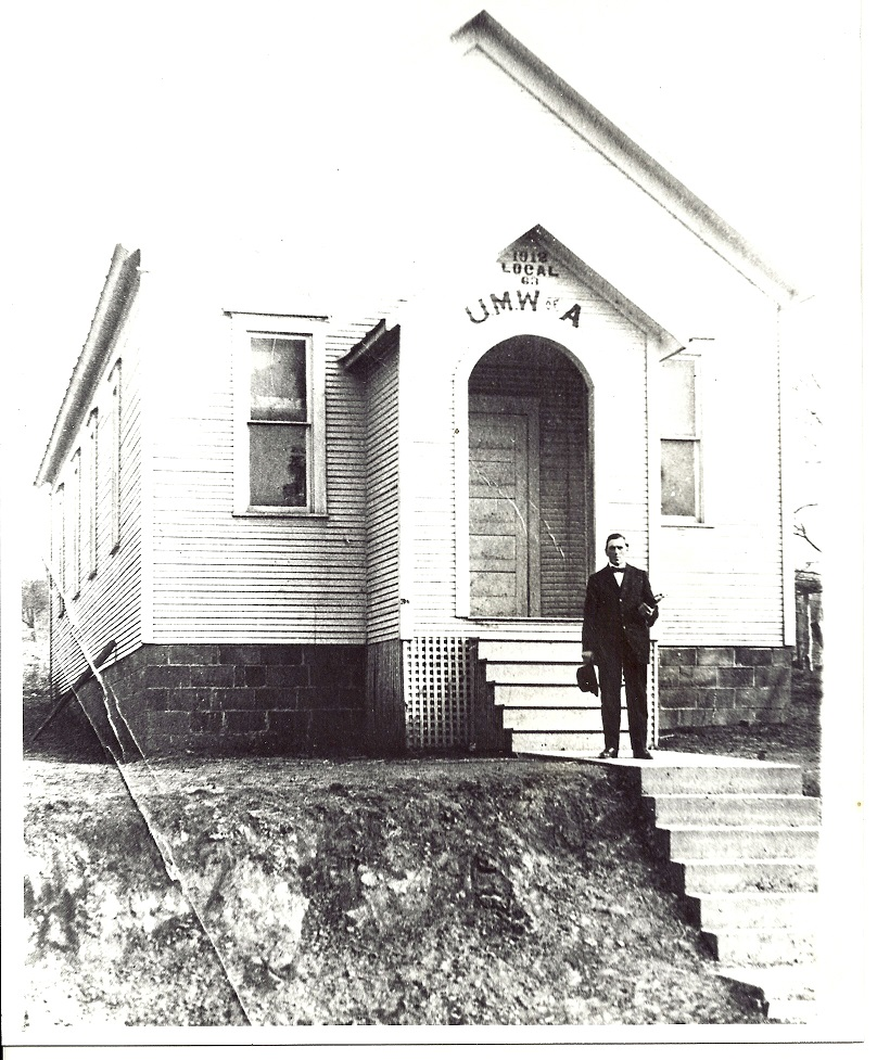 Union Hall Local #63 (1912) - Rev. Nathan Cramblett held church services