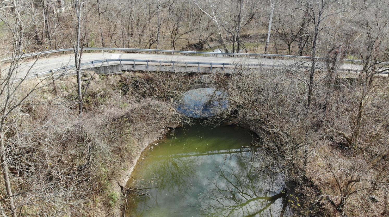 Crooked Creek Stone Bridge