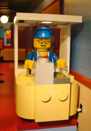 LEGO ticket booth