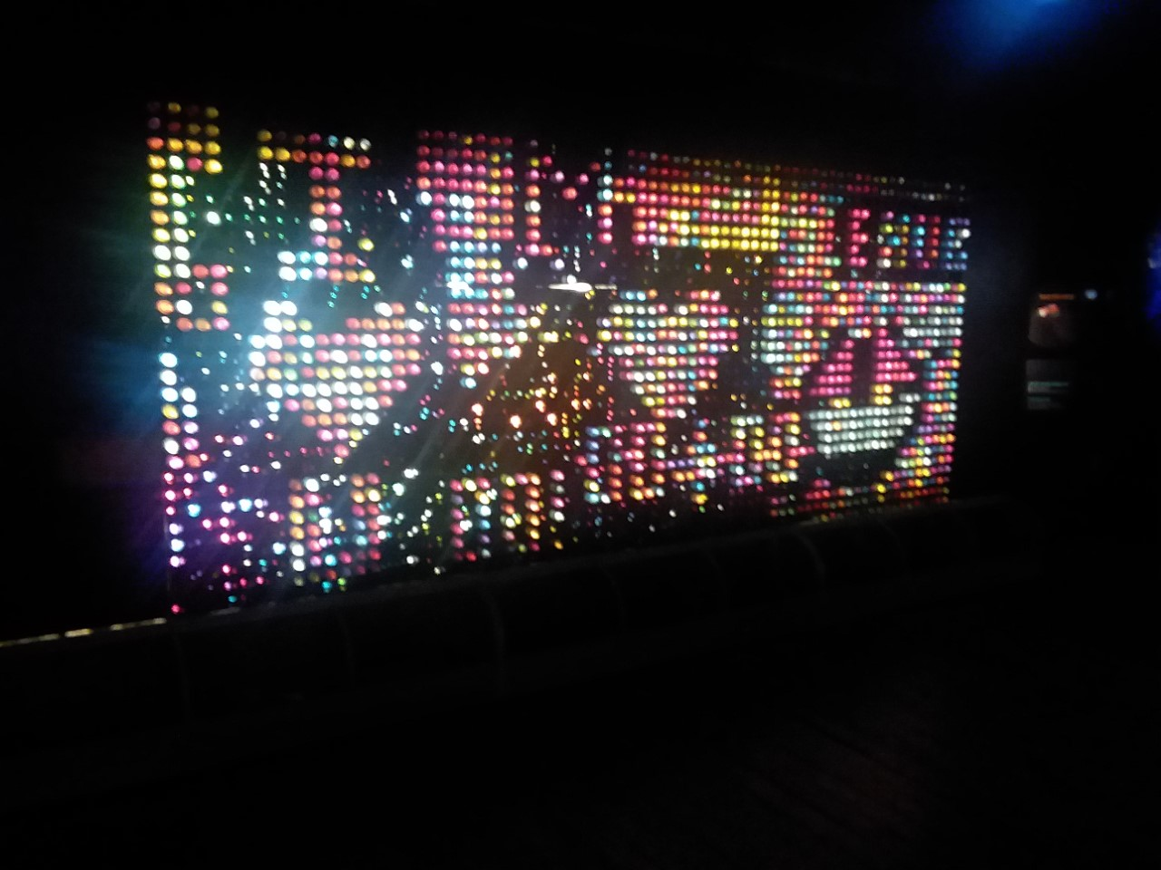 Lite Brite at Science Museum