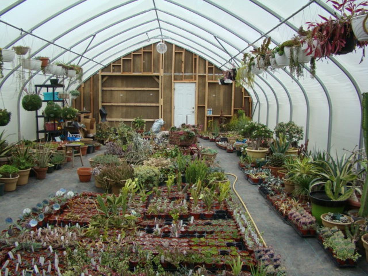 McDaniel's New Greenhouse