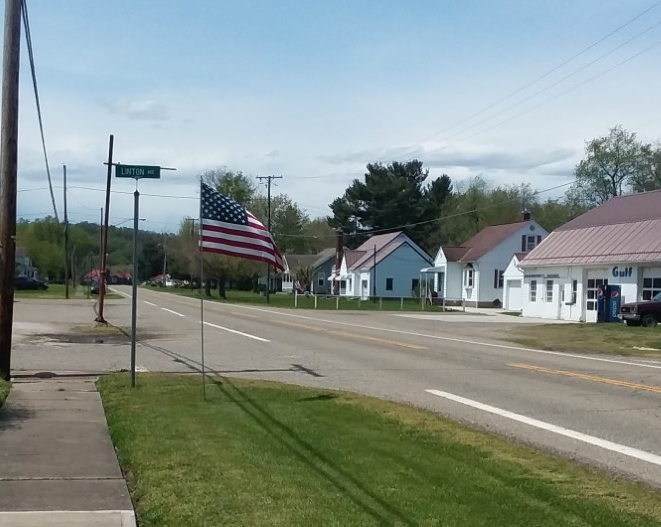 Spring Plainfield flags