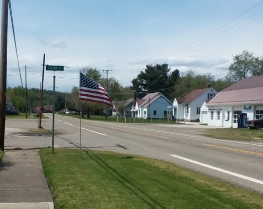 Spring Plainfield flags