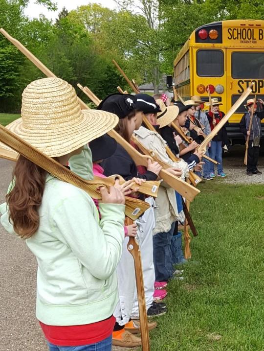 Fort Laurens School Group