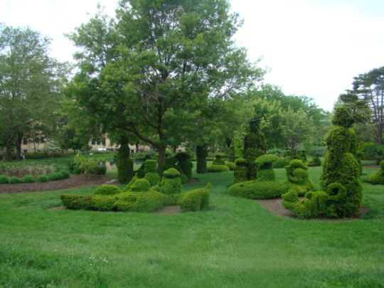 Topiary - View of painter