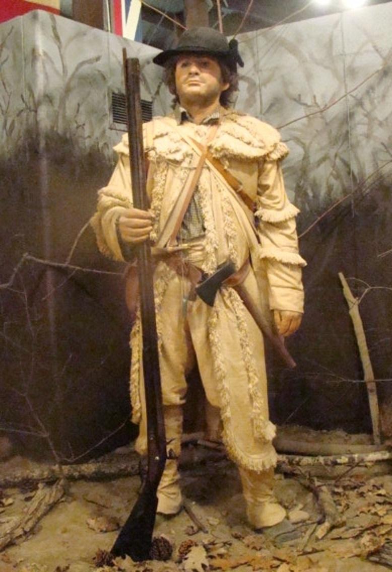 Fort Laurens rifleman