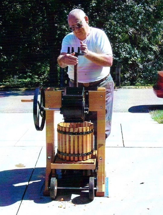 Aaron - cider press
