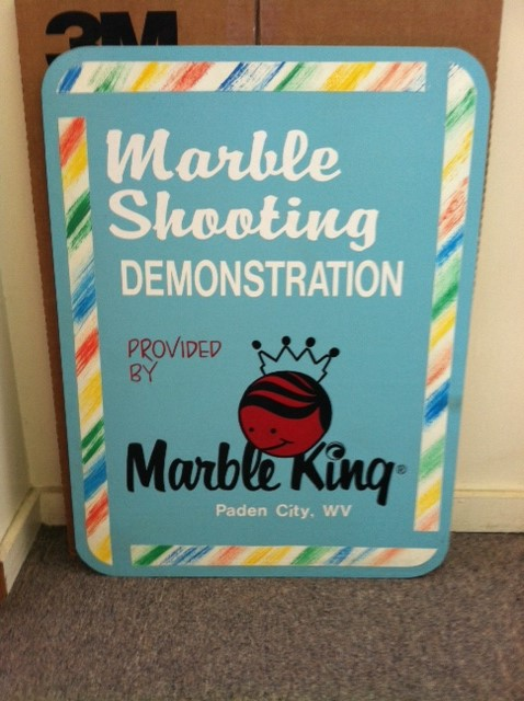 Marble King demonstration