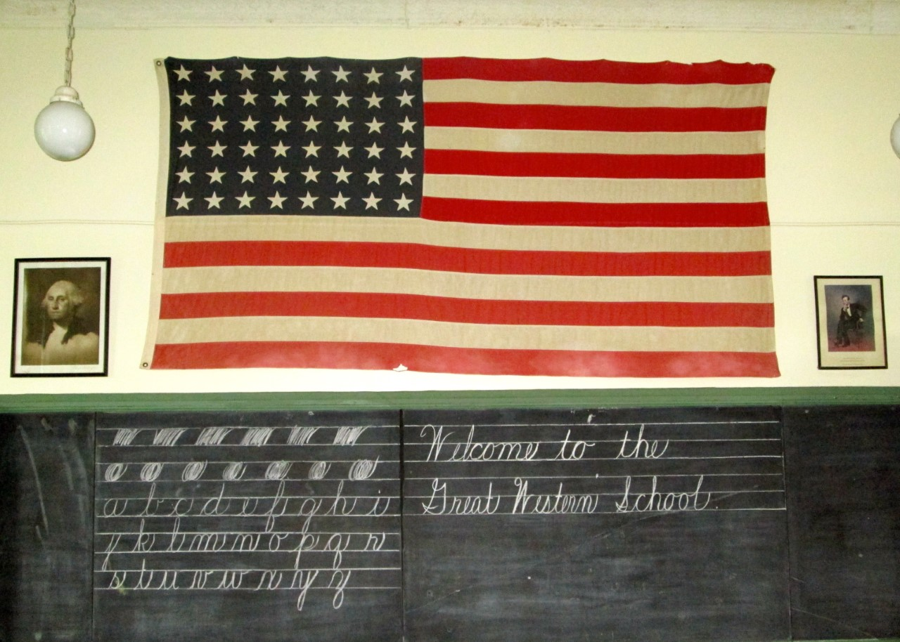 One-Room School Flag